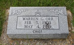 "Warren G ""Chief"" Orr"