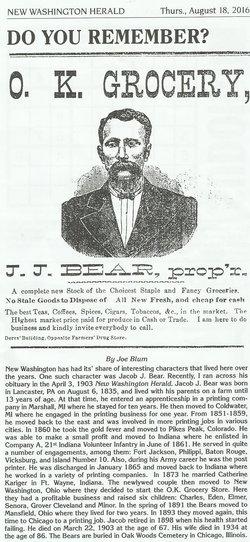 Jacob J. Bear