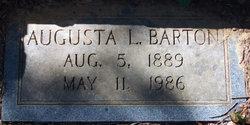 Augusta L Barton