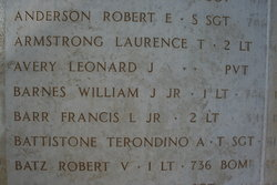 2Lt Francis L Barr, Jr
