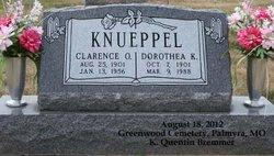 Dorothea K <I>Voepel</I> Knueppel
