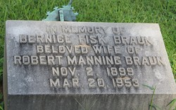Bernice E. <I>Fisk</I> Braun