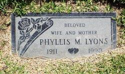 Phyllis Marion Lyons