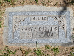 Mary Ann <I>Preece</I> Phillips
