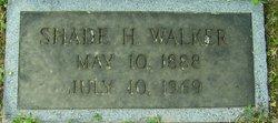 Shade H. Walker