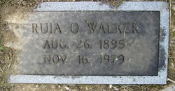 Ruia Ethel <I>Ogle</I> Walker