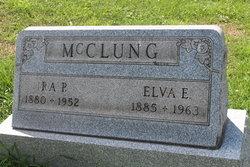 Elva E <I>Anderson</I> McClung
