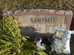 Marjorie M. Campbell