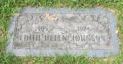Edith Helen Johnson