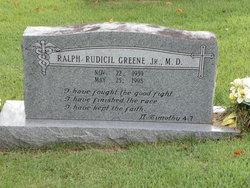 Dr Ralph Rudicil Greene, Jr