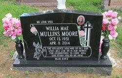Willia Mae <I>Mullins</I> Moore