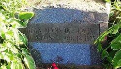 Dean Manson Lewis
