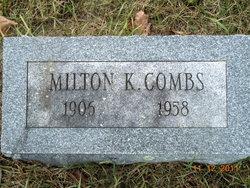 Milton Kermit Combs