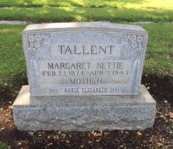 "Margaret ""Nettie"" Tallent"