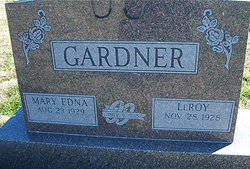 Mary Edna <I>Thomas</I> Gardner