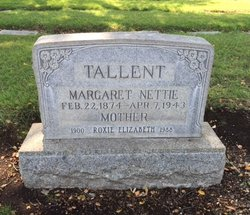 Roxie Elizabeth Tallent