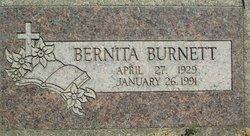 Bernita Yvonne <I>Dillon</I> Burnett