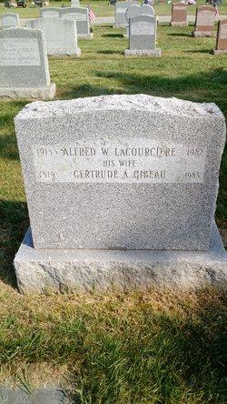 Gertrude A. <I>Gibeau</I> Lacourciere