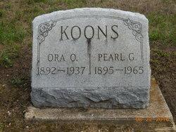 Pearl G Koons