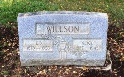 Alice M <I>Johnson</I> Willson