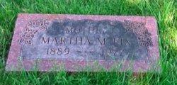 Martha M <I>Grandmason</I> Fix