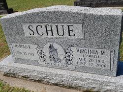 Mrs Virginia M <I>Oswalt</I> Schue