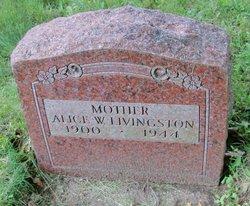 Mrs Alice <I>Whitford</I> Livingston