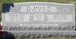 Opal Mae <I>Yancey</I> Davis