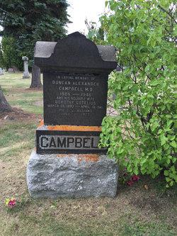 Dr Duncan Alexander Campbell