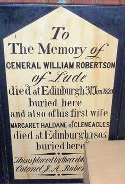 c6e995d2cd59 GEN William Robertson (1760-1820) - Find A Grave Memorial