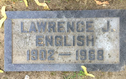 Lawrence Joseph English