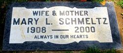 Mary Lydia <I>Schrope</I> Schmeltz