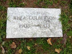 Rhea Culberson