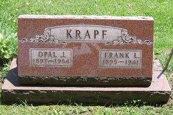 Opal J <I>Barnes</I> Krapf