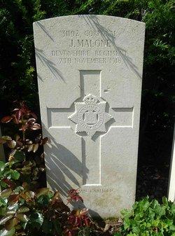 Corp Joseph Malone