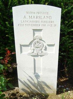 Pvt Abraham Marsland