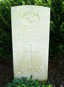 Capt George Mayo McClenaghan