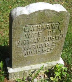 Catherine R <I>Fair</I> Moser
