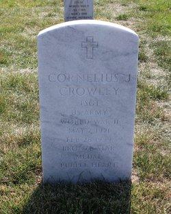 Cornelius J Crowley