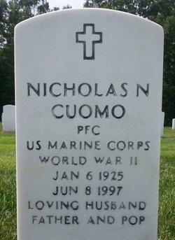 Nicholas N Cuomo