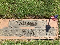 Pvt Jasper Louis Adams