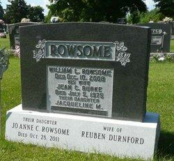 JoAnne Canning <I>Rowsome</I> Durnford