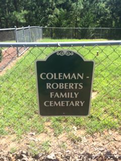 Roberts/Coleman Family Cemetery