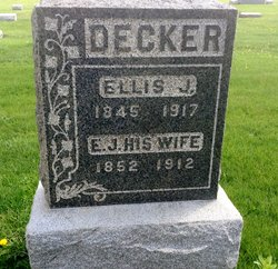 Elizabeth Jane <I>Jenkins</I> Decker