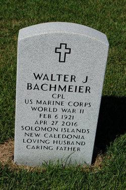 Walter J. Bachmeier