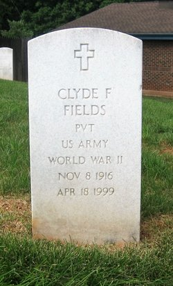 Clyde F Fields