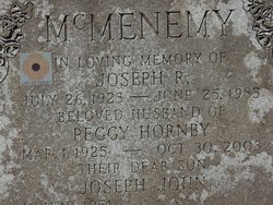 Peggy <I>Hornby</I> McMenemy