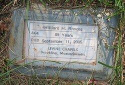 Hilliard Holman <I>Rosenberg</I> Rhodes
