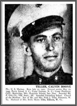 Calvin Boone Tiller