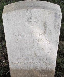 Arthur N Billings